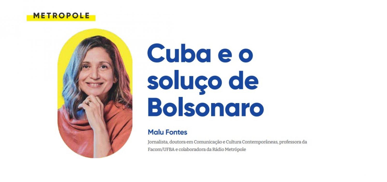Cuba e o soluço de Bolsonaro
