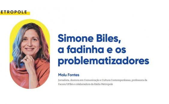 Simone Biles, a fadinha e os  problematizadores