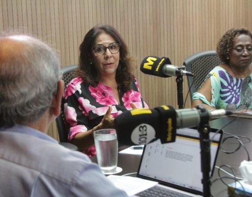Júlia Damiana e Moema Britto