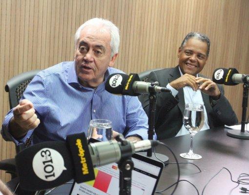 Otto Alencar e Antonio Brito