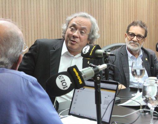 João Carlos Salles e Paulo Miguez