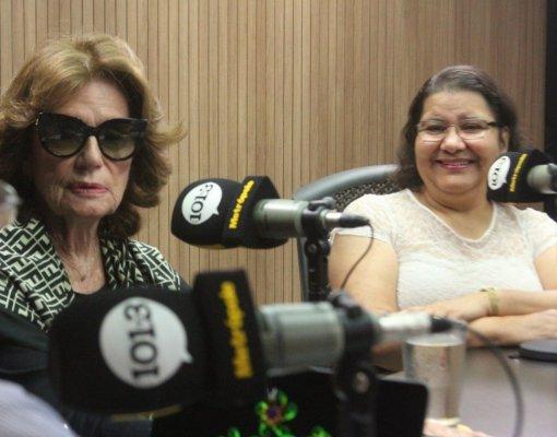 Lia Vianna e Eliene Dourado