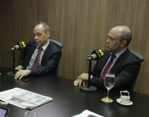 Rony José Silva e Edvandir Paiva
