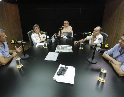 Carlos Cesar, Ernani Coelho e Horacio Nelson