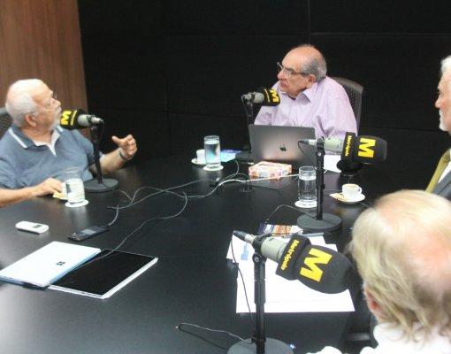 Aleixo Belov, Lourenço Mueller e Paulo Ormindo