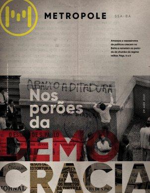 Abaixo a ditadura! E baixe aqui seu jornal