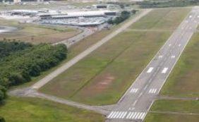 Pista do aeroporto de Salvador será interditada na madrugada de 15 a 25 de junho