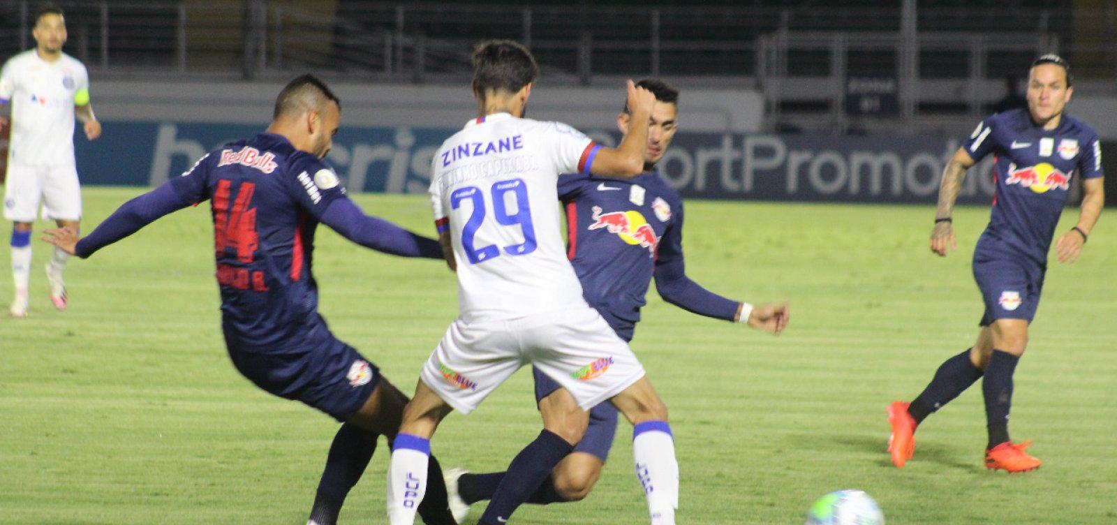 Bahia é goleado pelo RB Bragantino pela Série A