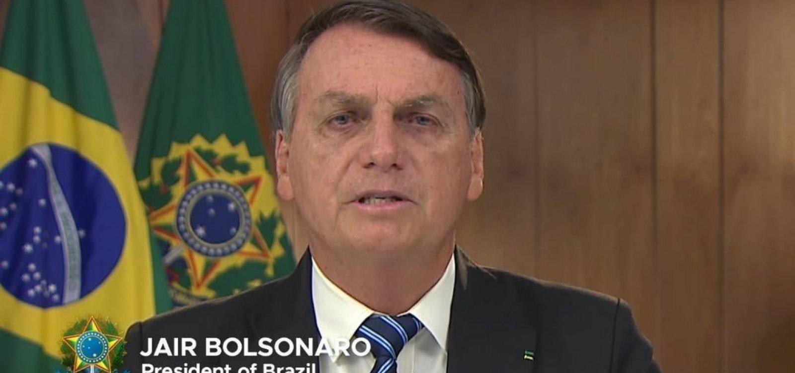 No G20, Bolsonaro diz que estava certo no combate à pandemia