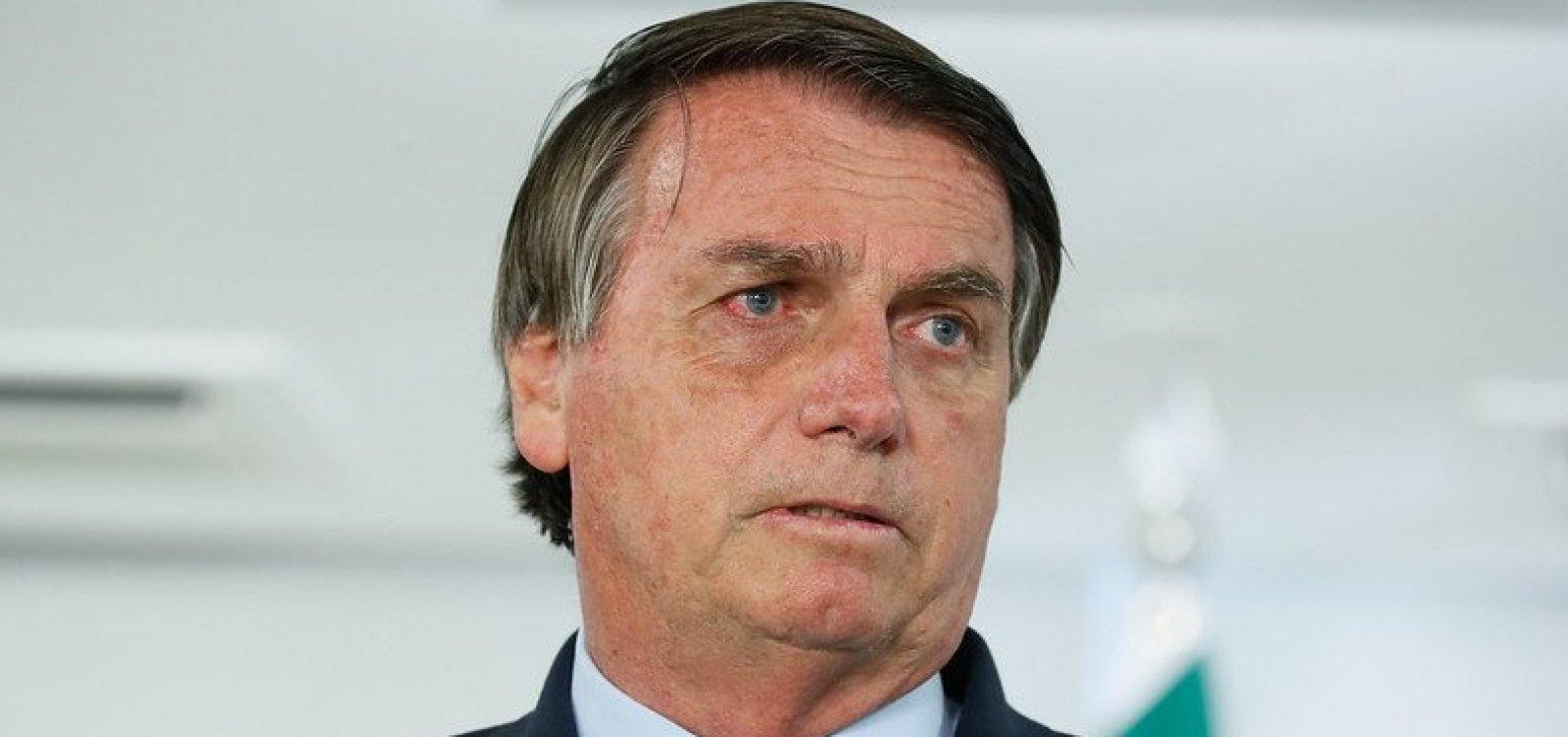 'Não vou tomar vacina e ponto final', diz Bolsonaro sobre imunizante para Covid-19