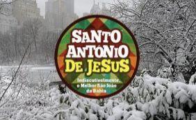 Especial São João: empresa promete fazer nevar em Santo Antônio de Jesus