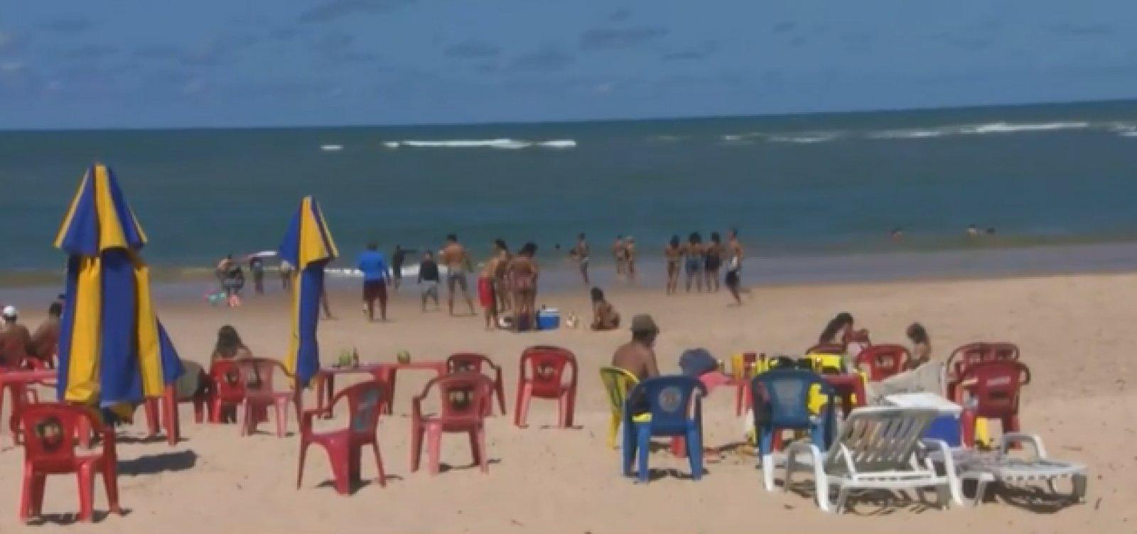 Inema aponta praias impróprias para banho em Salvador e na Costa dos Coqueiros
