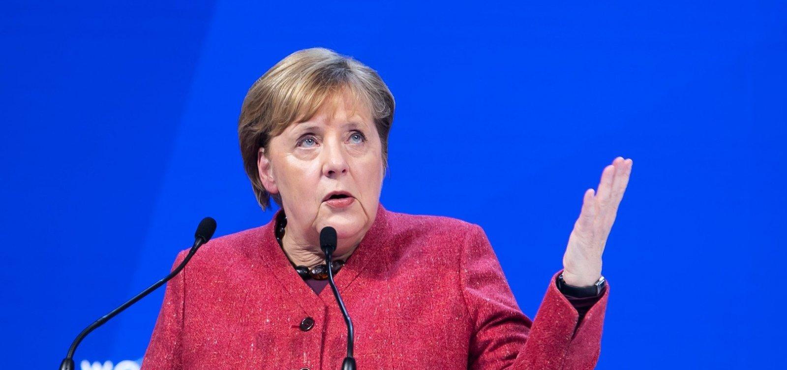 Após festas de fim de ano, chanceler da Alemanha diz que pior fase da pandemia ainda está por vir