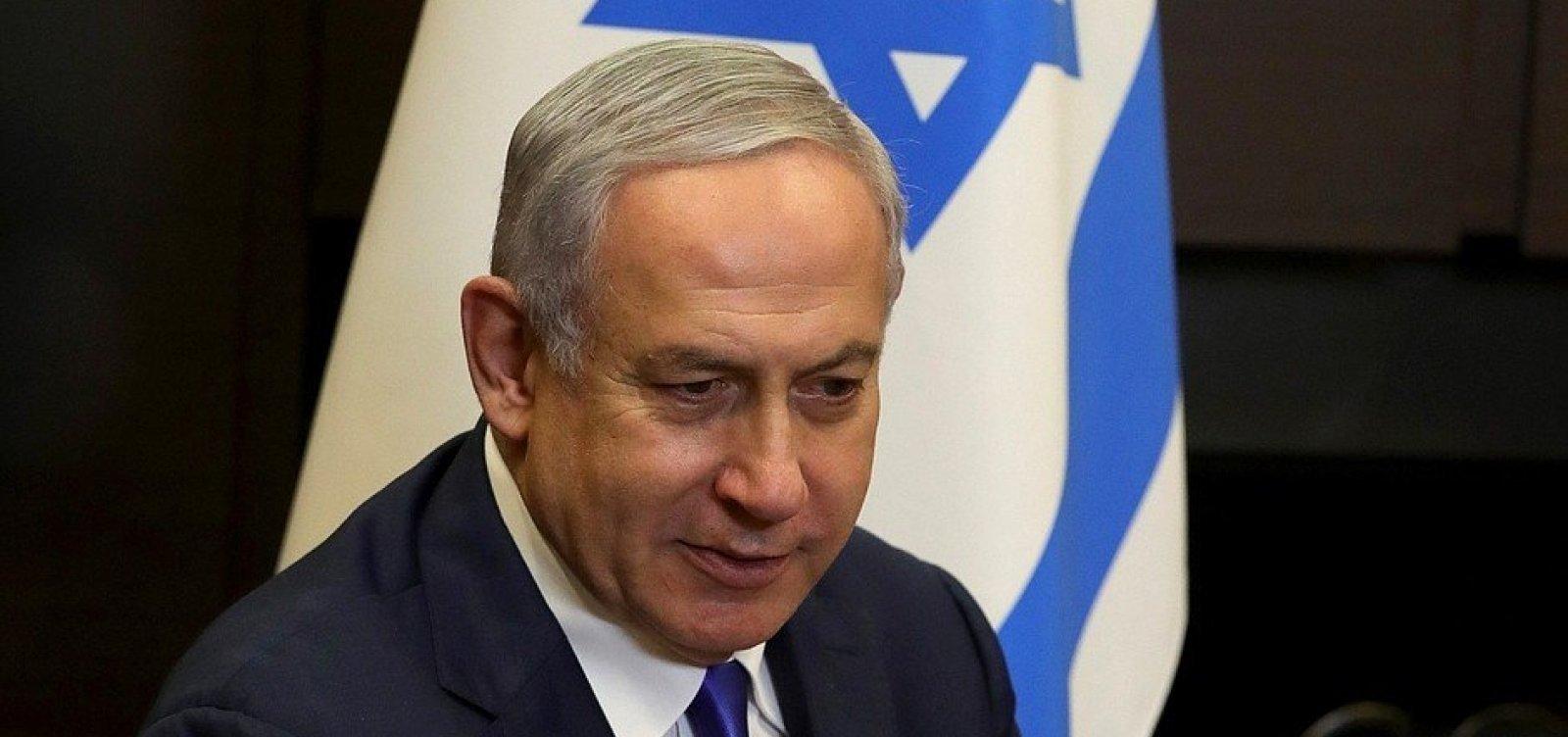 Primeiro-ministro de Israel recebe a 2ª dose de vacina contra a Covid-19