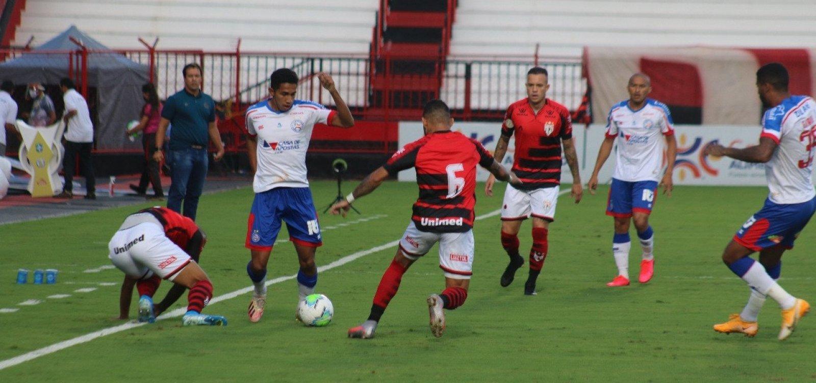 Bahia arranca empate com Atlético-GO fora de casa em 1 a 1