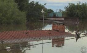 Sobe o número de cidades atingidas pela chuva no Rio Grande do Sul