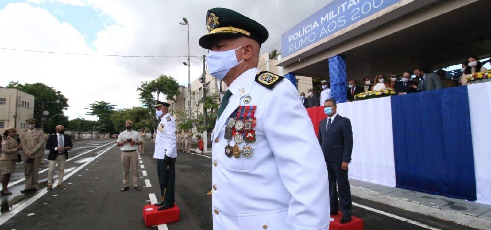 Novo comandante, coronel Coutinho, é nomeado pela Polícia Militar da Bahia