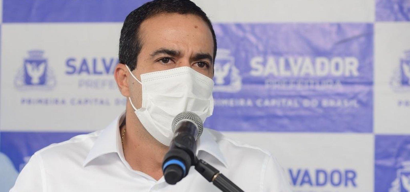 Vacinação em Salvador segue cronograma nacional e começa na quarta-feira, diz Bruno Reis