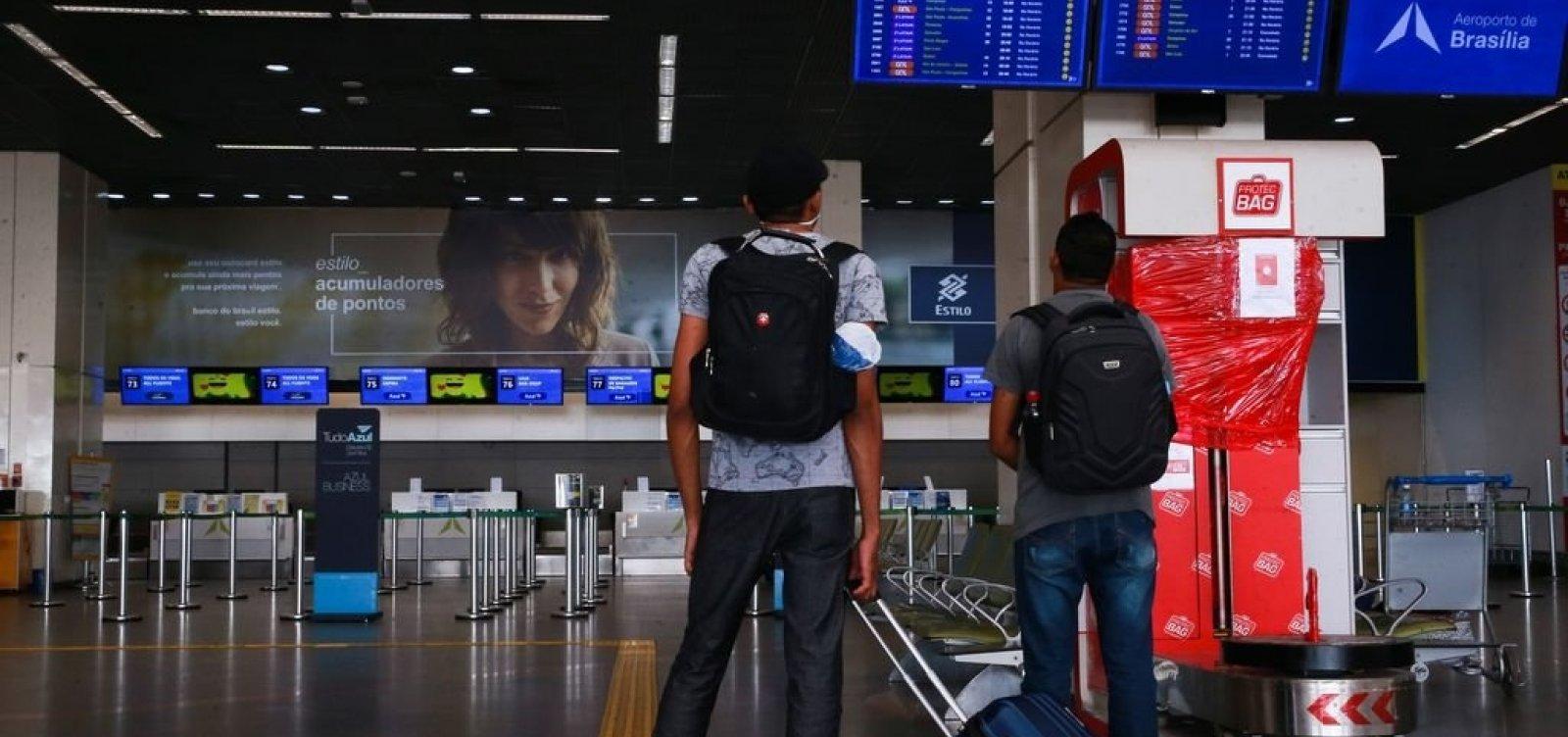 Itália anuncia suspensão de voos vindos do Brasil