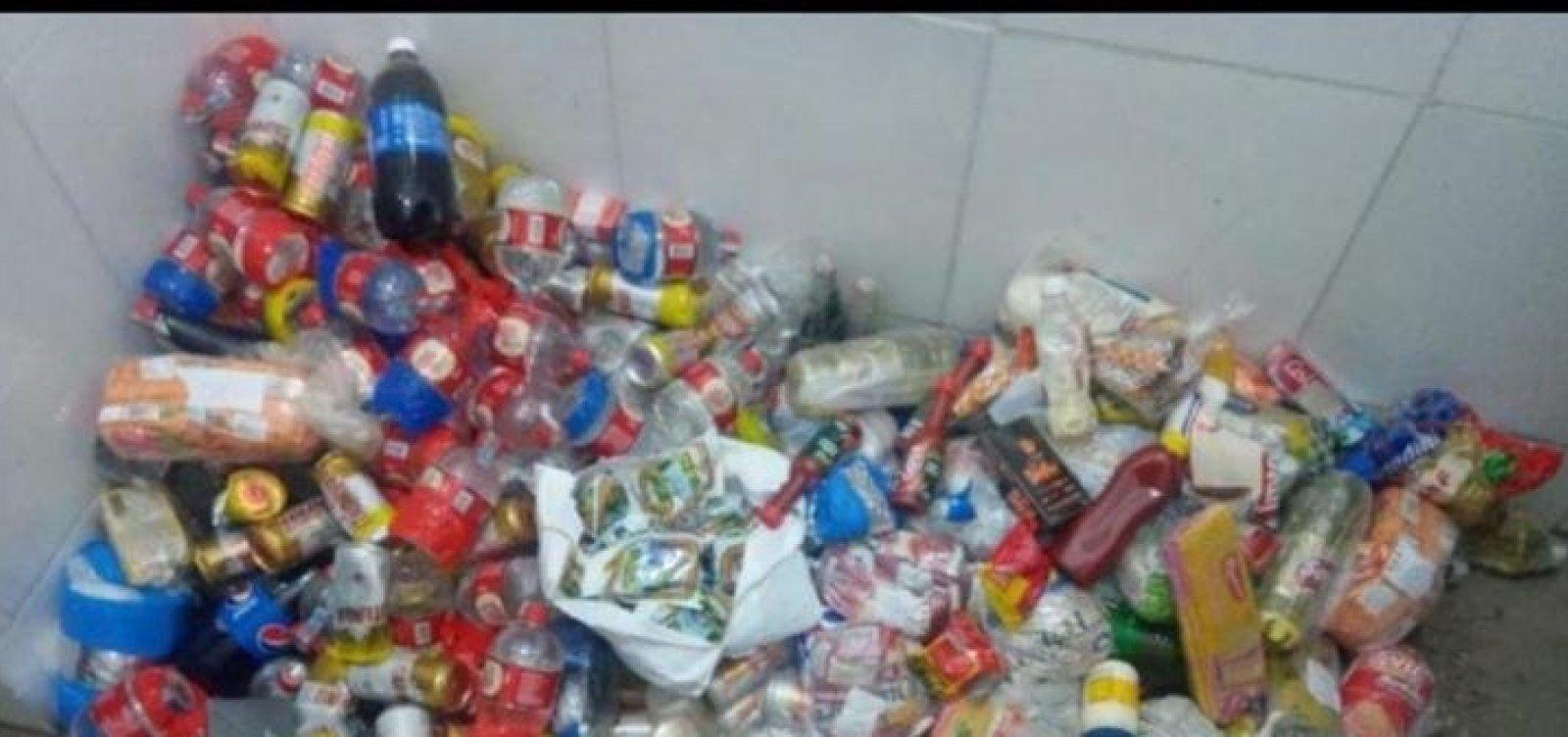 Polícia impede arremesso de 215 latas de cervejas para presos na Mata Escura