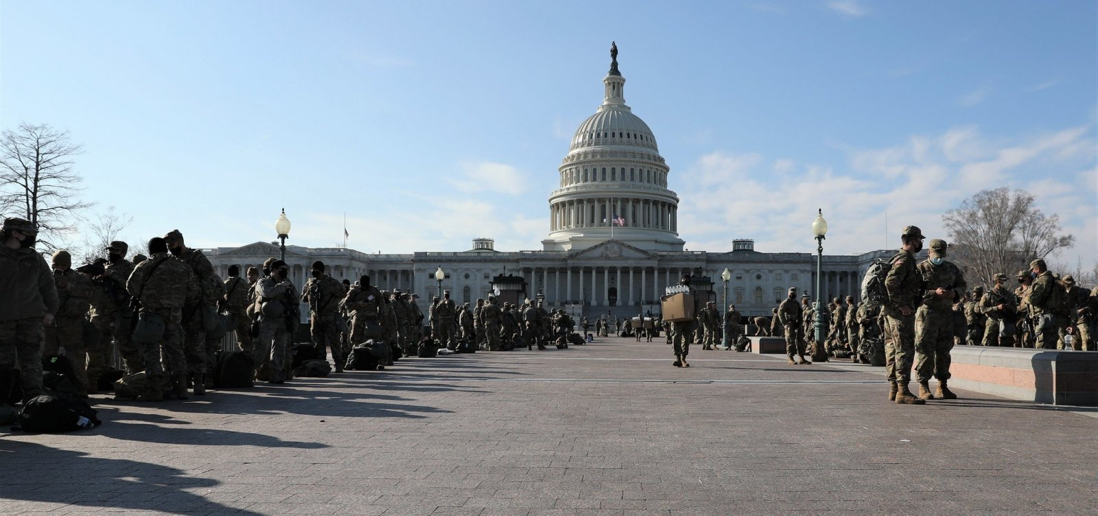 Polícia americana prende homem armado que planejava atentado na posse de Biden