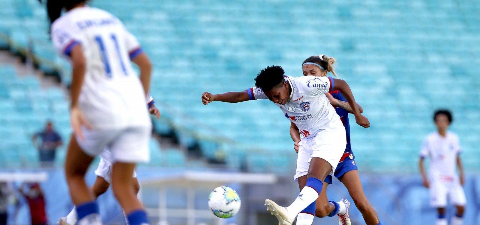 Brasileirão Feminino: Bahia encara Botafogo e busca vaga na final da Série A2