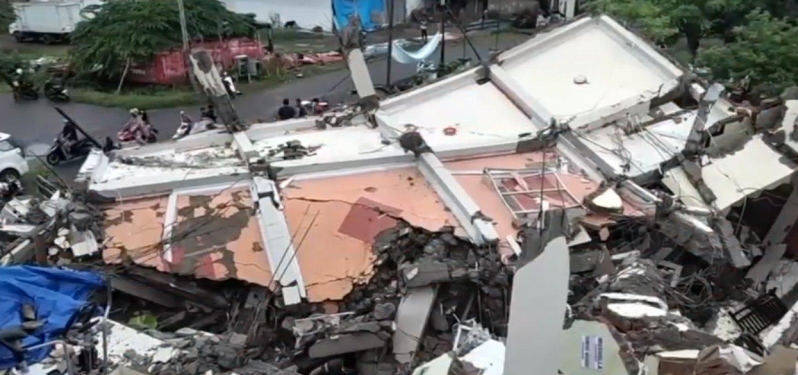 Número de mortes em terremoto na Indonésia sobe para 56