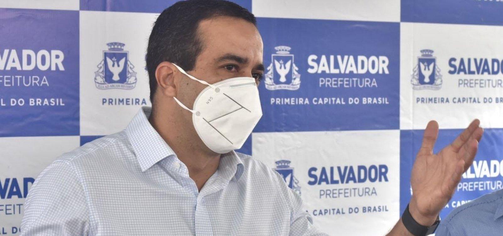 Bruno Reis e Leo Prates viajam para Brasília para acompanhar distribuição de vacinas nesta segunda