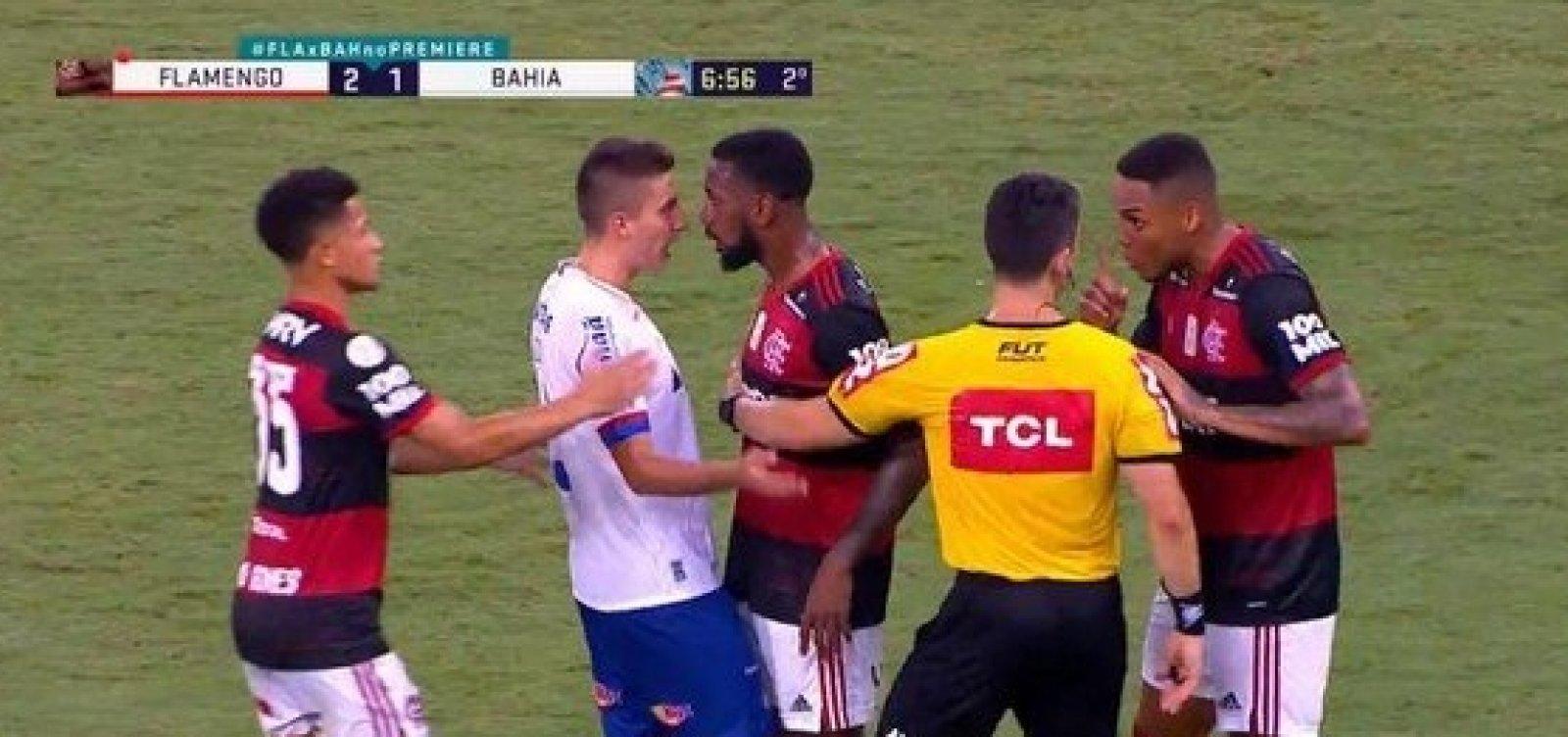Ramírez, do Bahia e Gerson, do Flamengo, são intimados a depor na sede do STJD