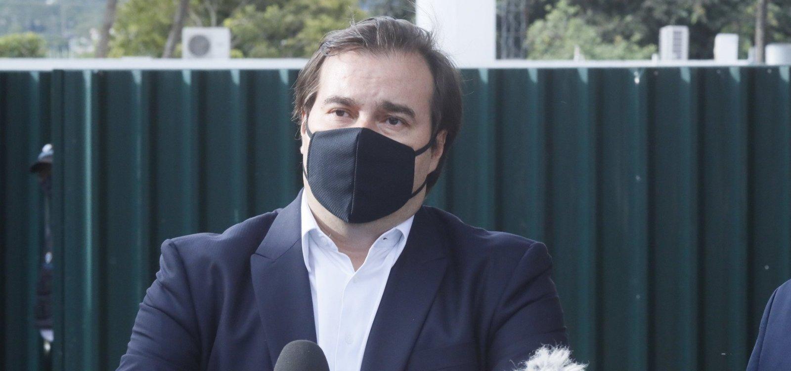 Rodrigo Maia vai se reunir com embaixador chinês para tentar resolver crise no envio de insumos
