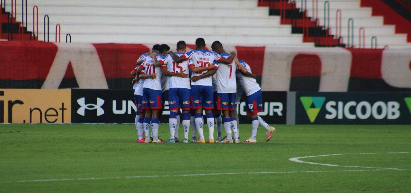 Bahia enfrenta Athletico-PR e tenta sair do Z4