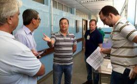 Secretário de Saúde do Estado vistoria hospitais de Salvador