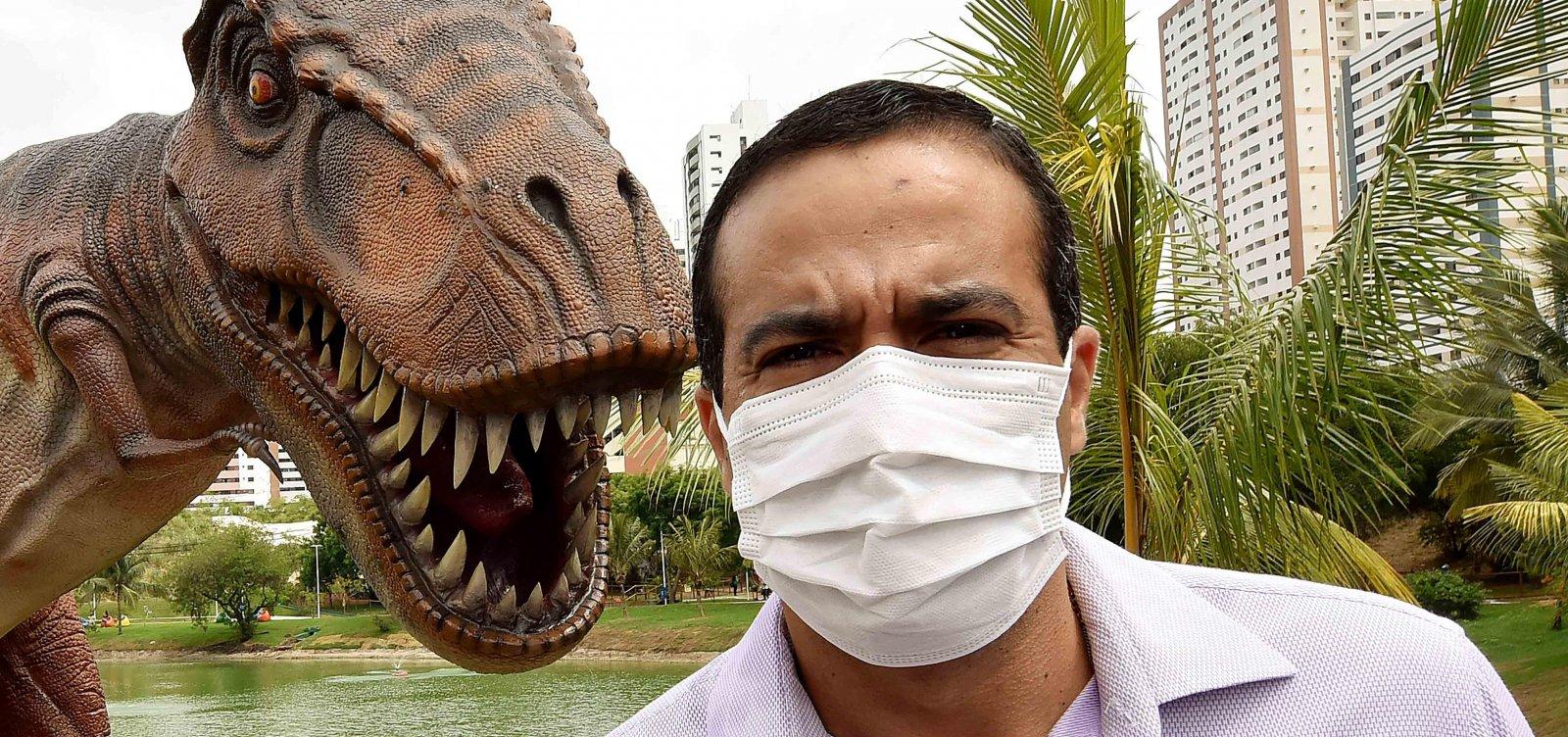 Visitação à Lagoa dos Dinossauros deverá ser agendada aos finais de semana