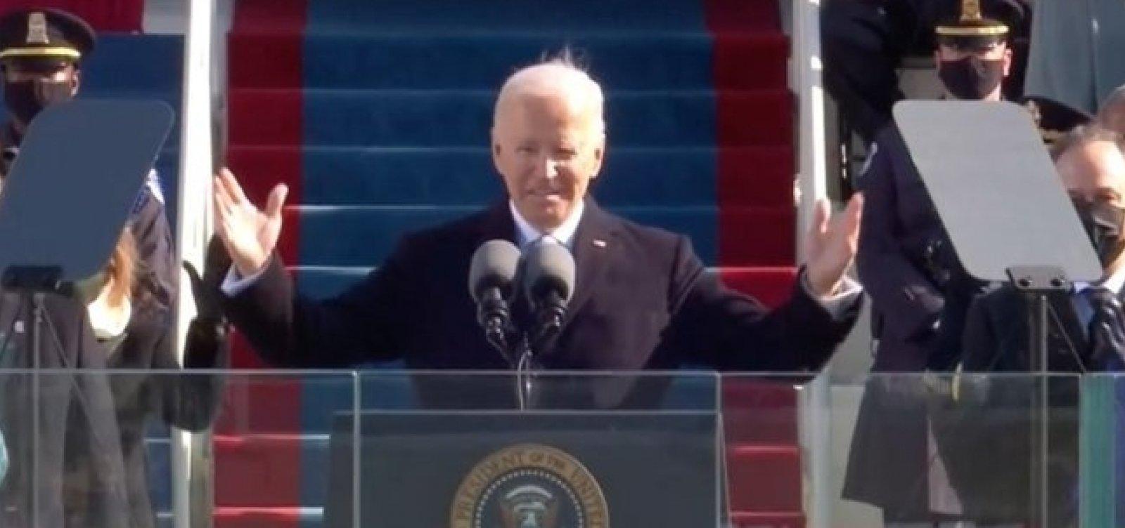 Biden toma posse como presidente dos Estados Unidos