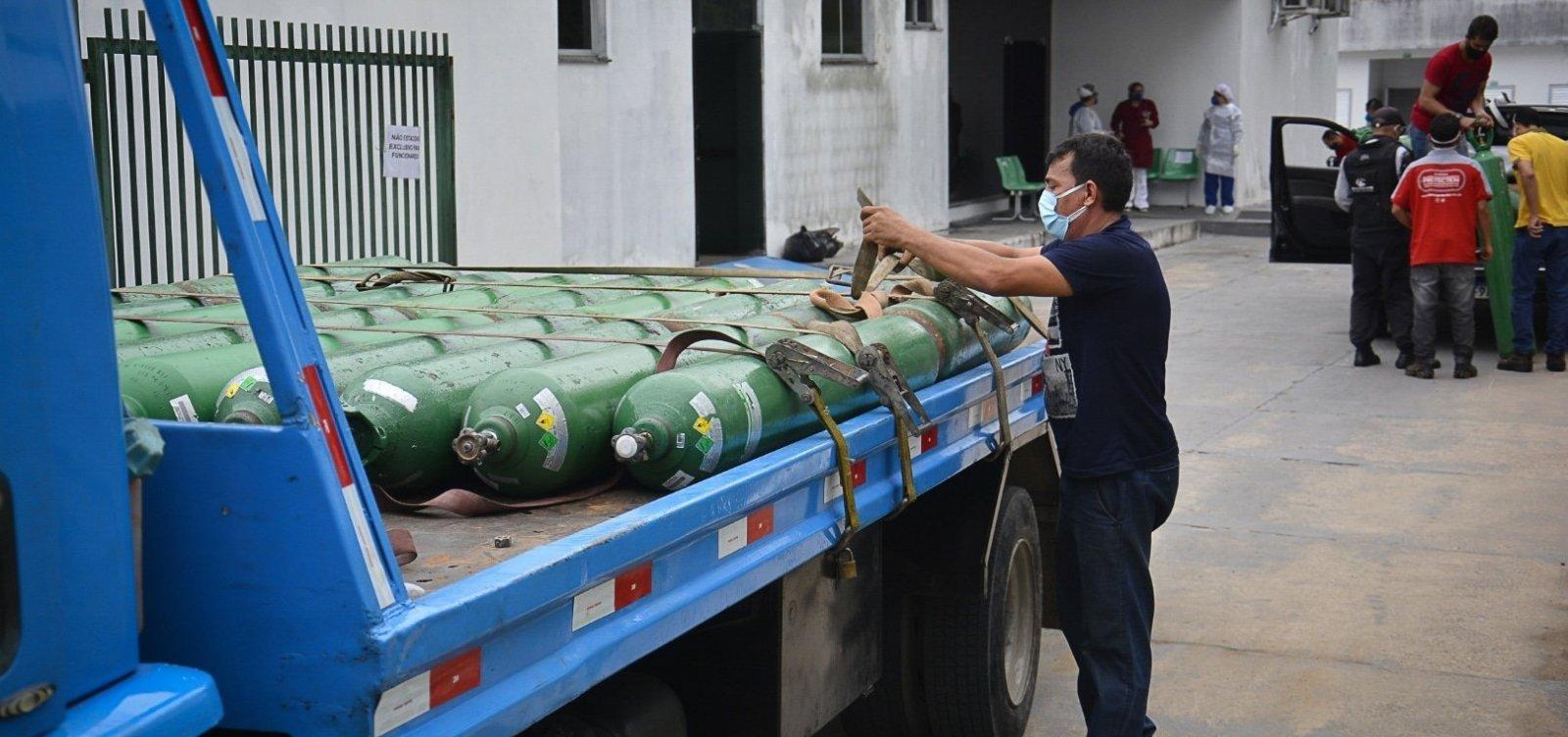 MPF investiga paralisação do transporte de oxigênio em Manaus