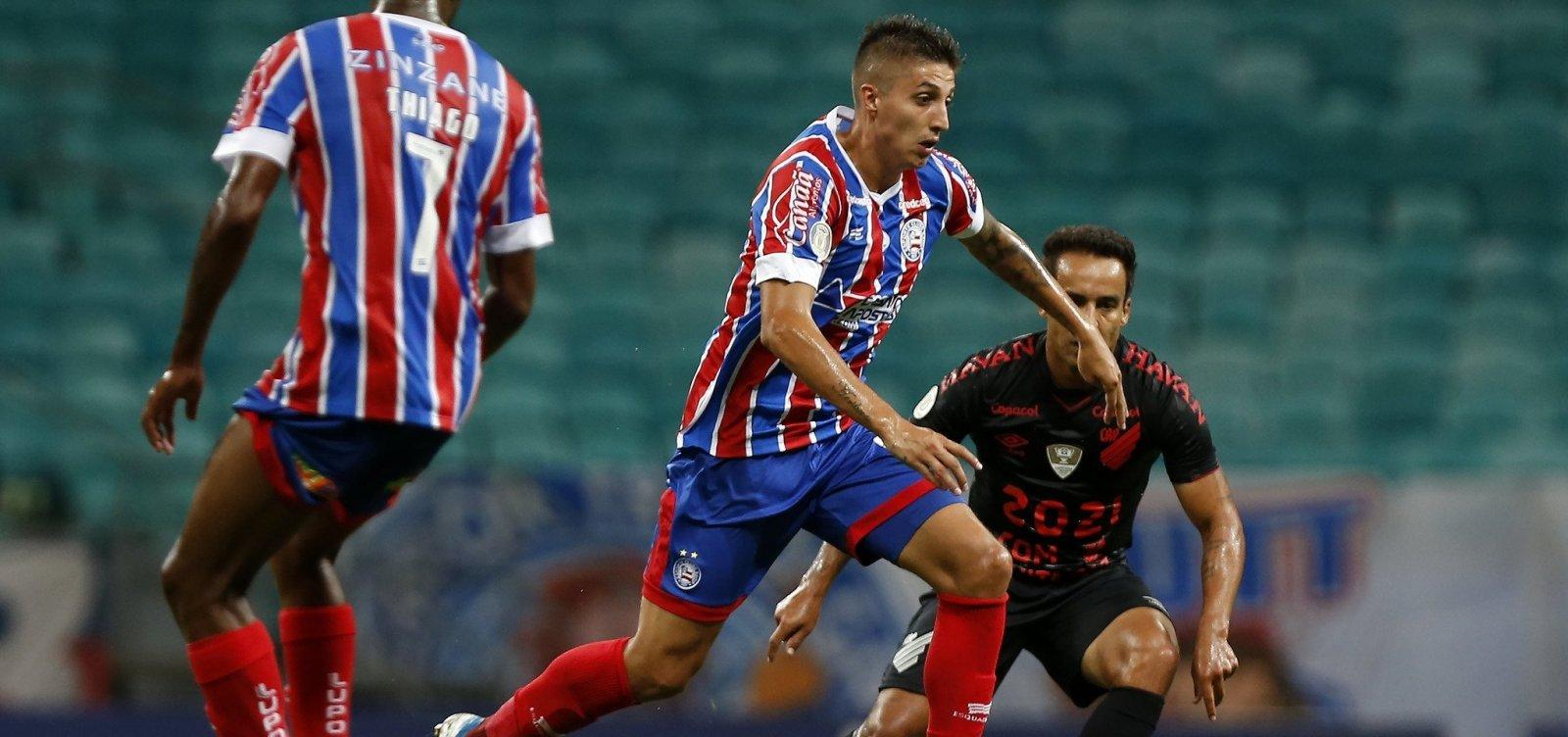 Bahia vence o Athletico-PR por 1 a 0 e respira na luta contra o rebaixamento