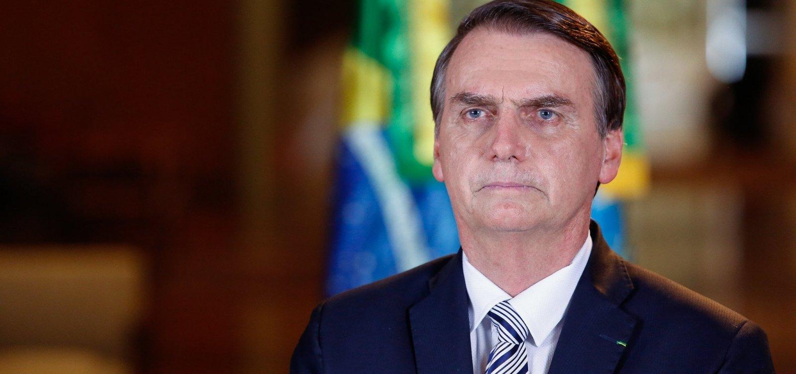 Se Deus quiser vou continuar meu mandato, diz Bolsonaro