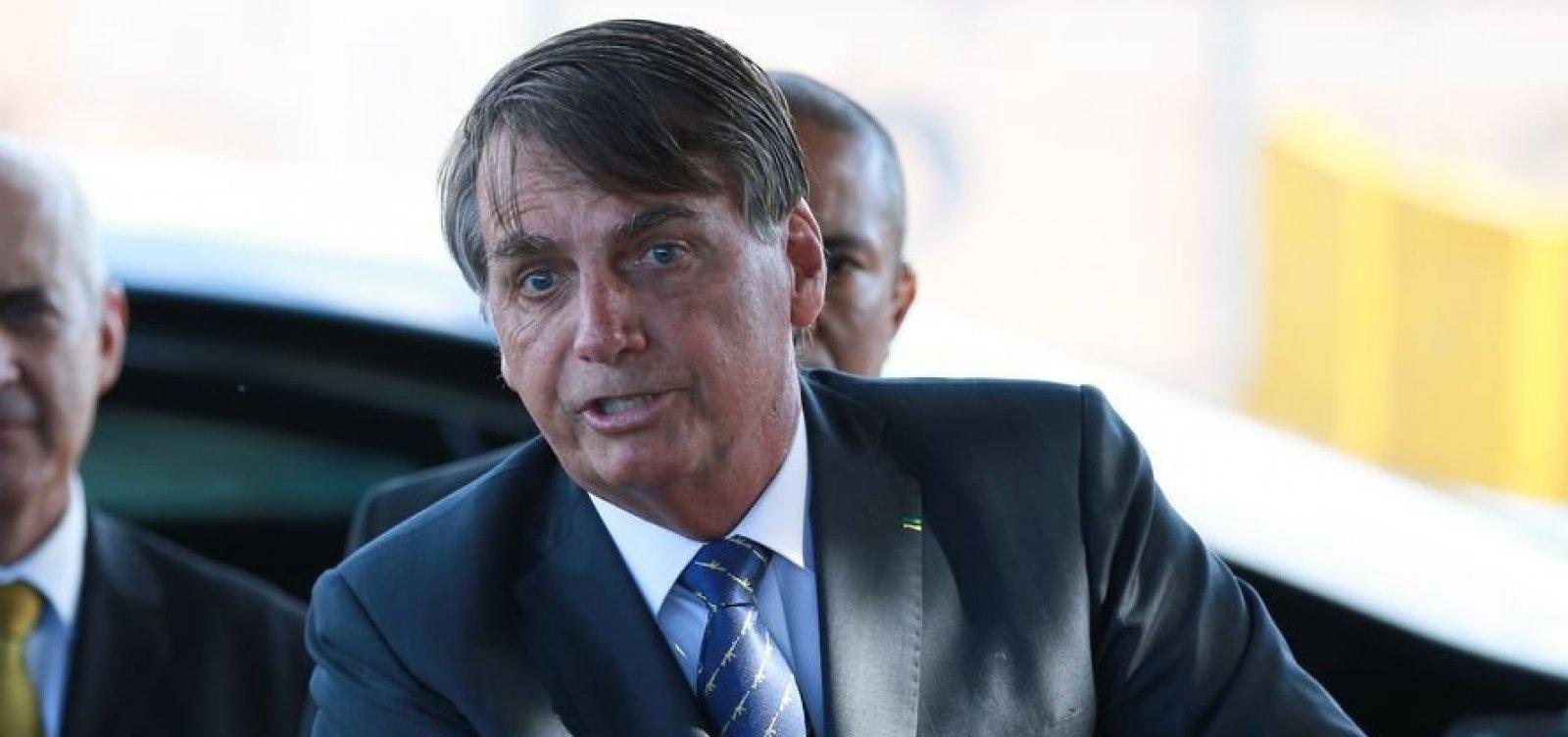 Bolsonaro proíbe ministros de atender Doria