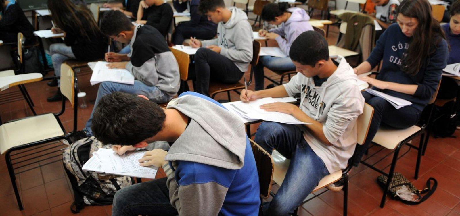 Documento mostra que organização do Enem determinou ocupação de 80% nos locais de prova