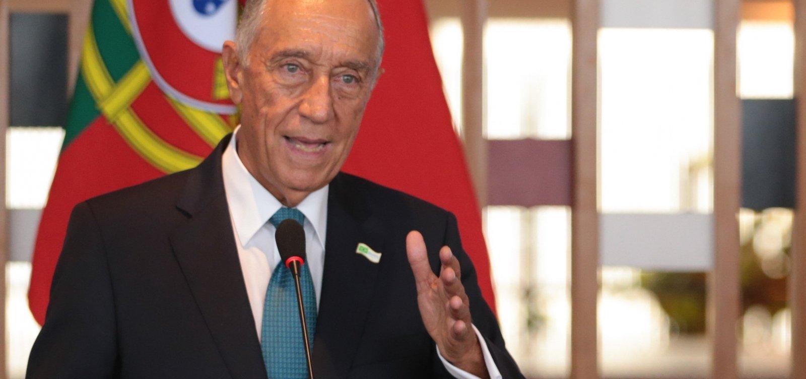 Marcelo Rebelo de Sousa é reeleito presidente de Portugal com 60,7% dos votos