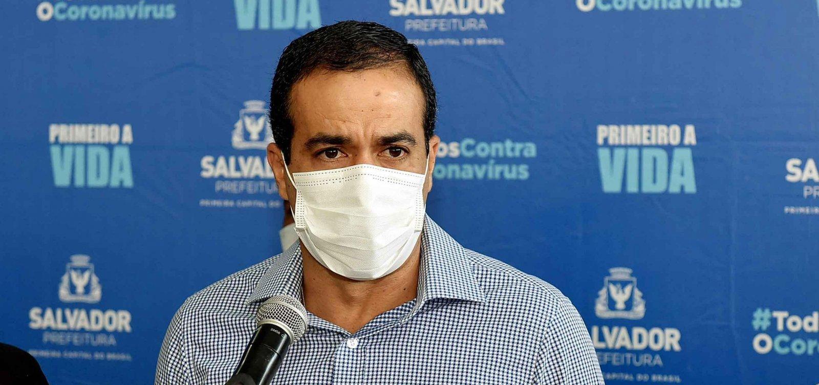 Prefeito diz que 20% da população de Salvador já teve Covid-19