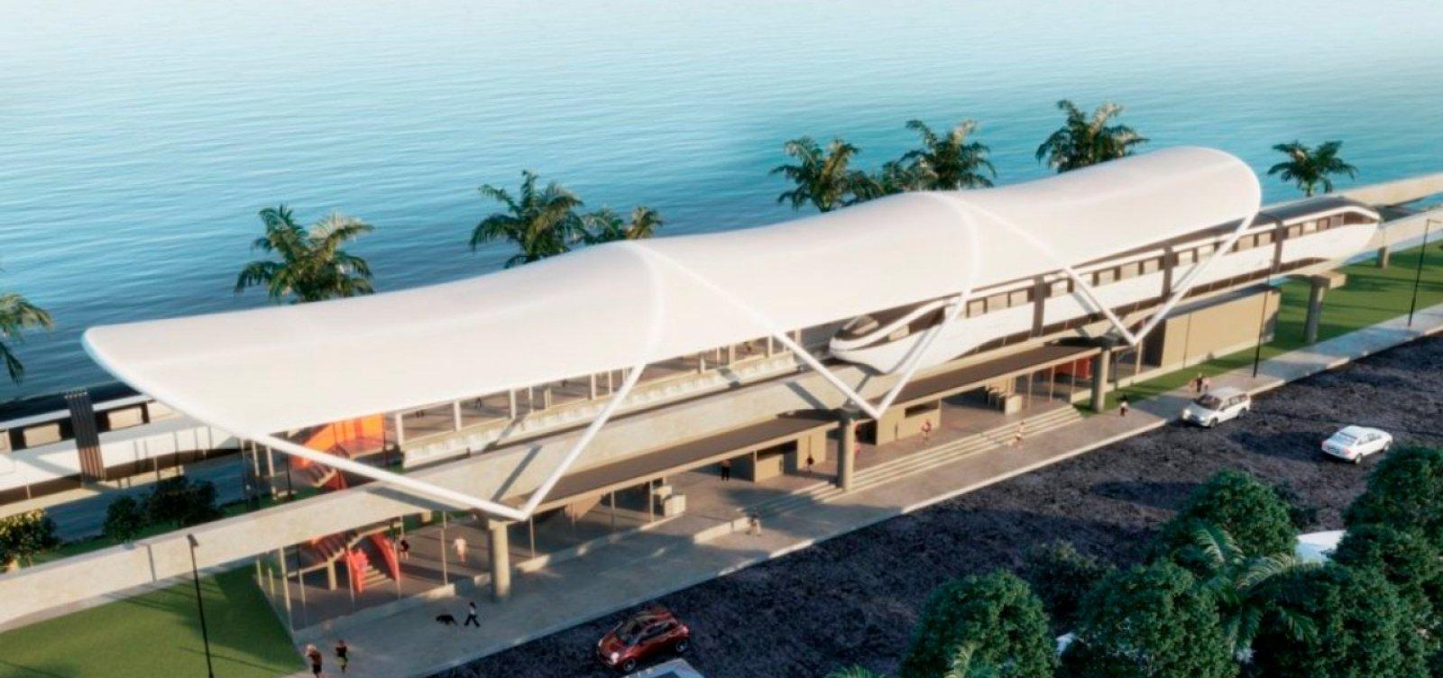 Trens do Subúrbio deixam de operar em 15 de fevereiro devido a obras do VLT