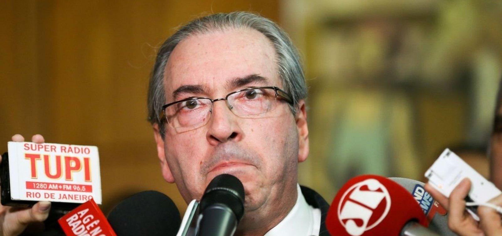 Em livro, Eduardo Cunha responsabiliza Temer, Maia e Baleia Rossi por impeachment de Dilma