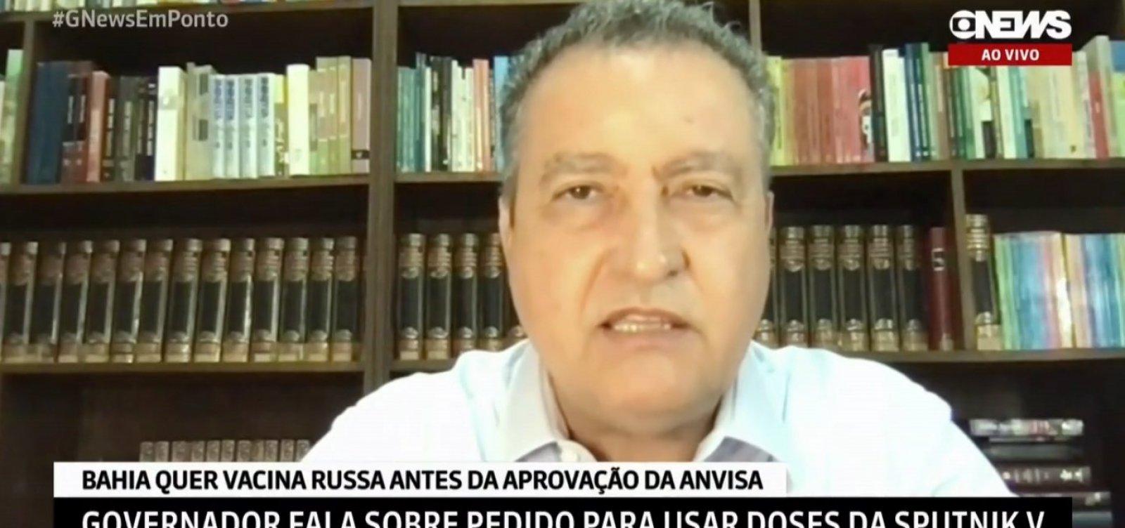 Rui critica 'soberania da Anvisa' e reclama de burocracia para liberar Sputnik V