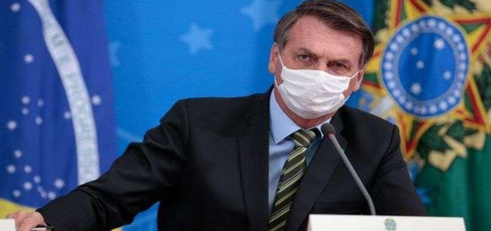 Bolsonaro diz que pandemia 'pode ser fabricada'