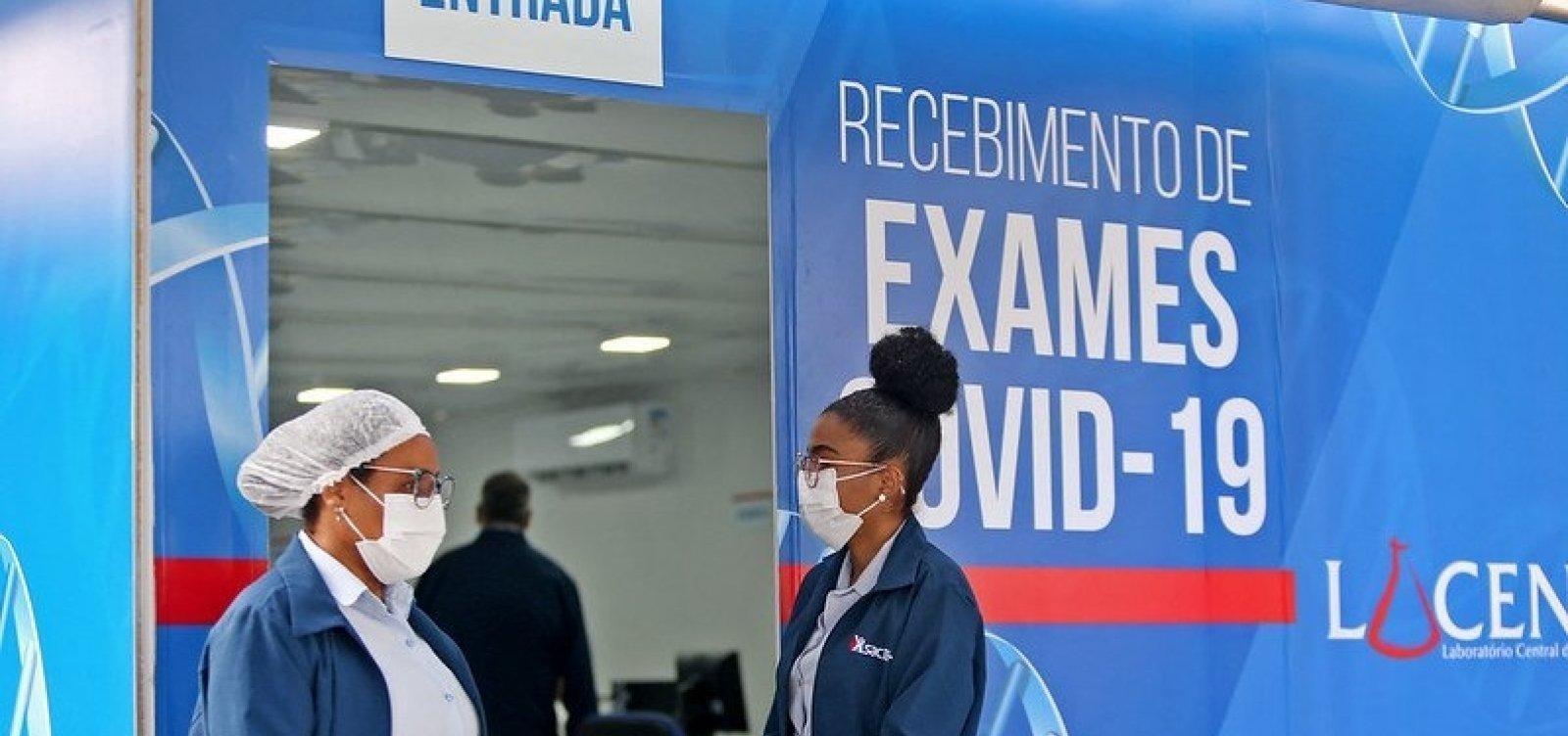 Bahia registra mais 3.645 casos e 35 óbitos por Covid-19 em 24h