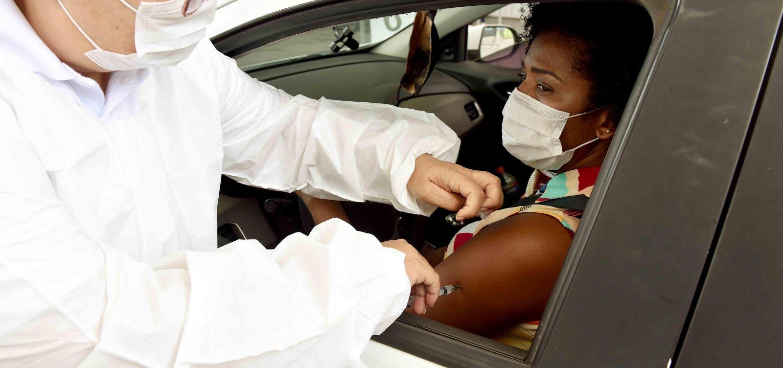Bahia tem mais de 137 mil pessoas vacinadas