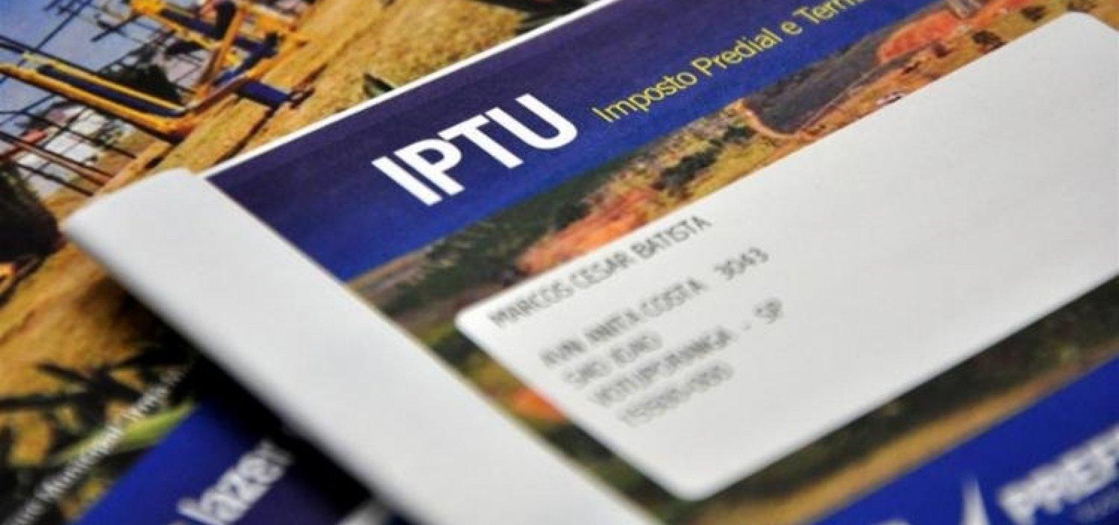 Pagamentos do IPTU 2021 começam na segunda-feira em Salvador
