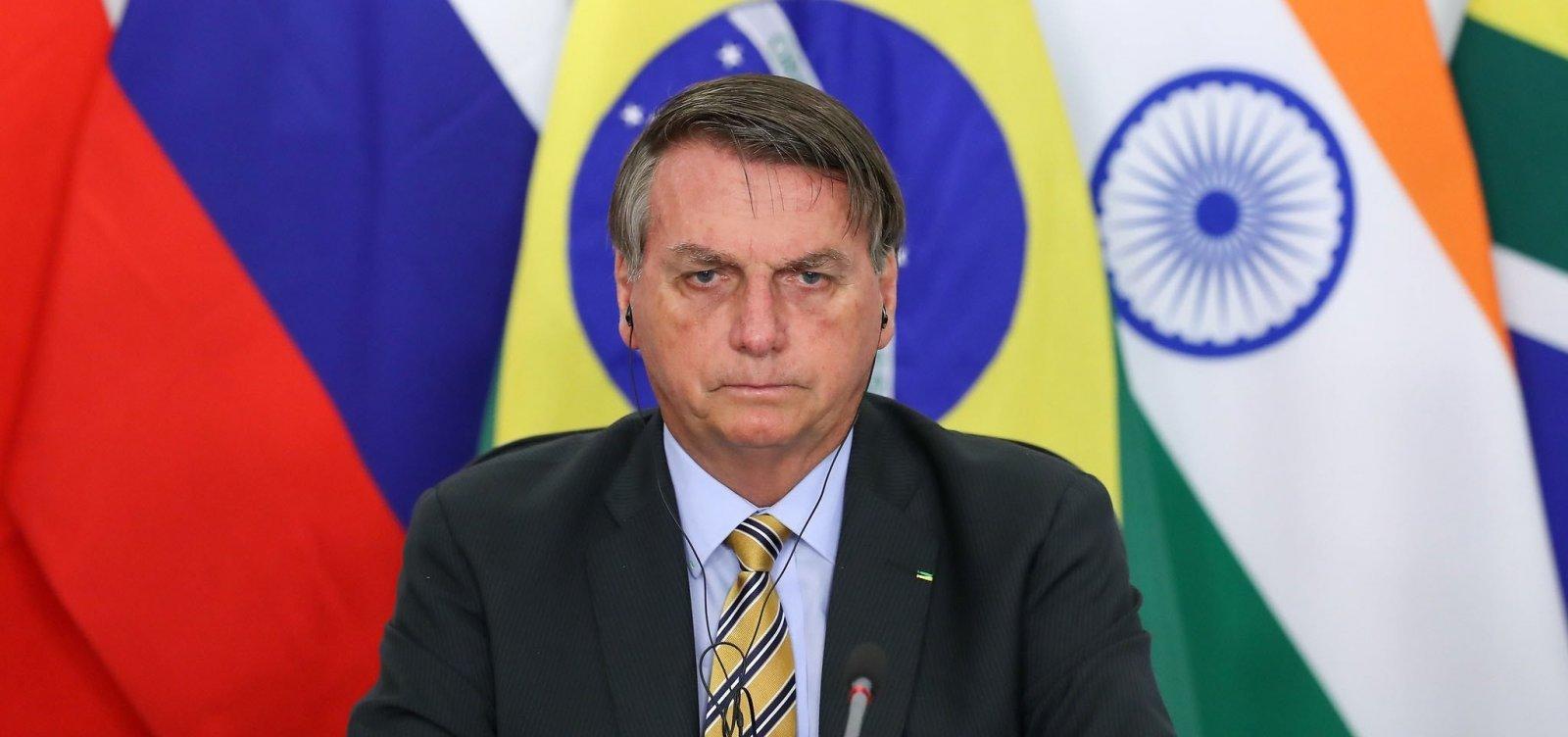 Um dia após falar em possibilidade de recriar ministérios, Bolsonaro nega intenção de reabertura