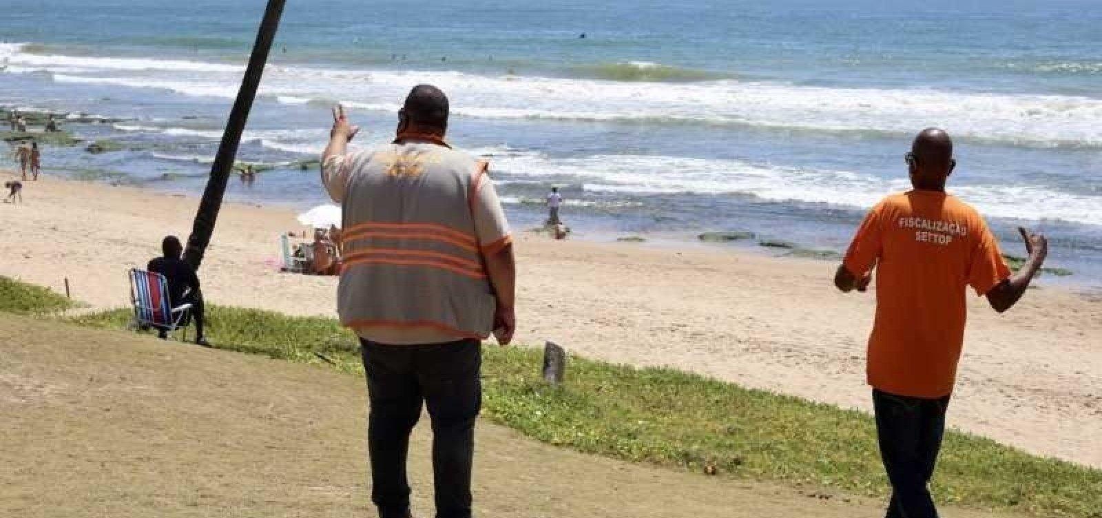 Prefeitura de Lauro de Freitas prorroga decreto que proíbe comércio informal nas praias